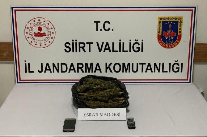 Siirt'te uyuşturucu tacirlerine yönelik operasyon