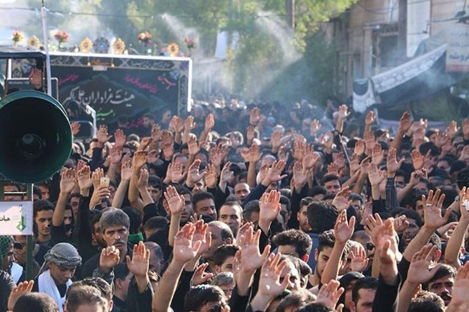 İran'da Kerbela merasimleri