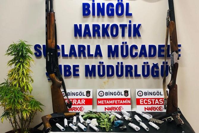Bingöl'de uyuşturucu operasyonu: 20 kişi tutuklandı