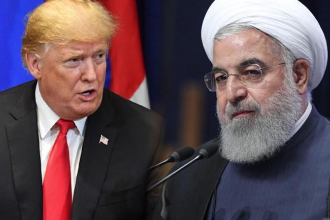 """Trump """"ön şartsız"""" Ruhani ile görüşmeye hazır"""