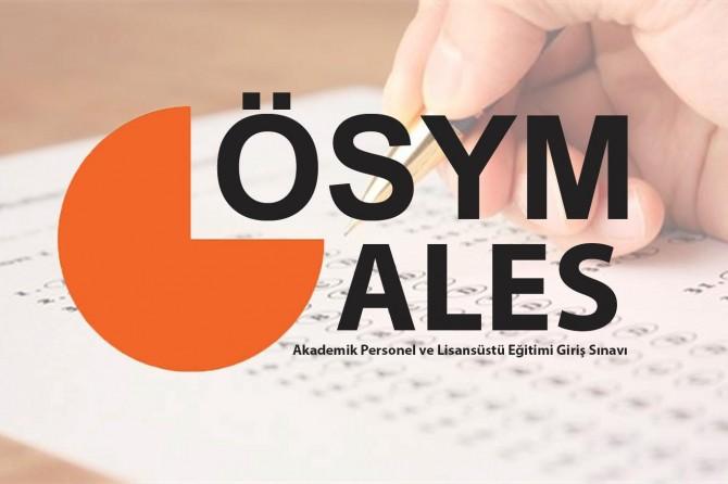 ALES sınava giriş belgeleri açıklandı