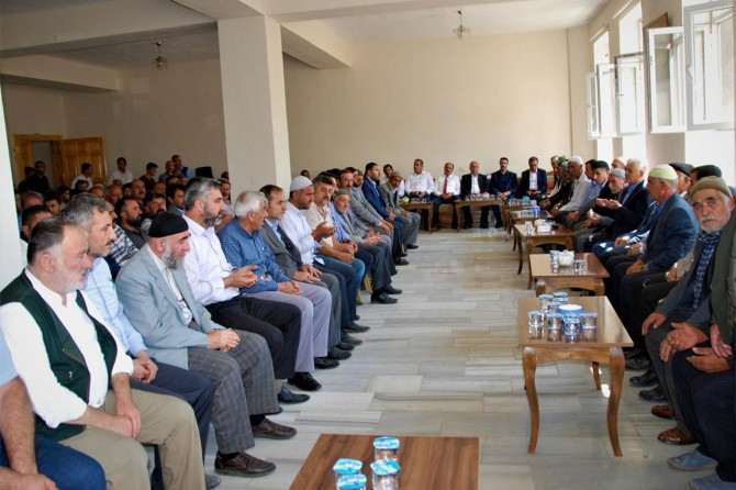 HÜDA PAR Bitlis İl Başkanlığından taziye ziyareti