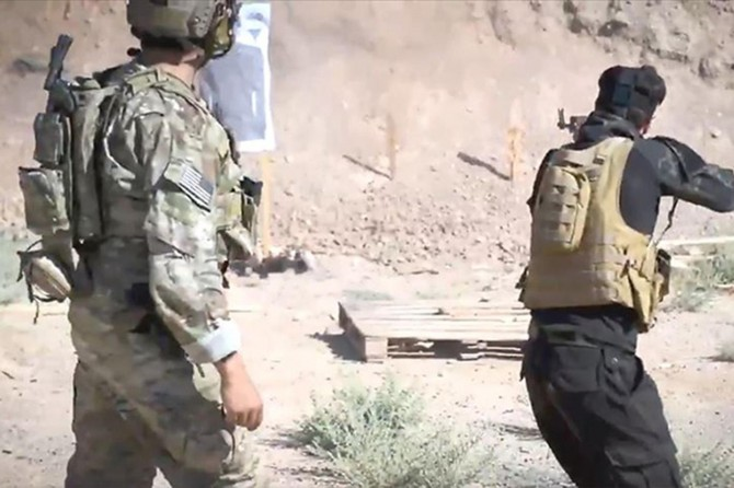 US provides residential and land training to YPG