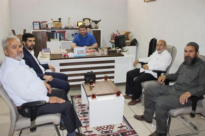 HÜDA PAR Konya İl Başkanlığından basın kuruluşlarına ziyaret