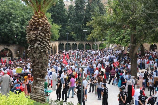 Çocukları dağa kaçırılan ailelere destek yürüyüşü düzenlendi