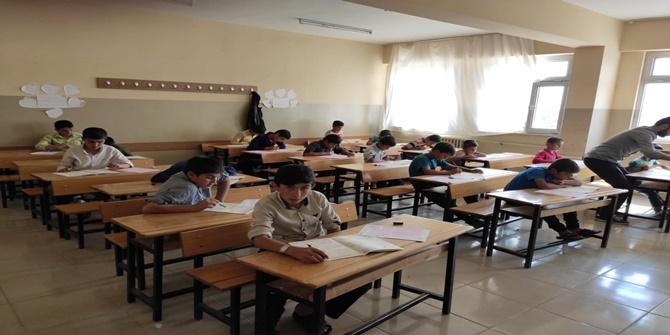 Çınar'da Kur'an Nesline Kur'an Pınarı sınavı heyecanı 2019