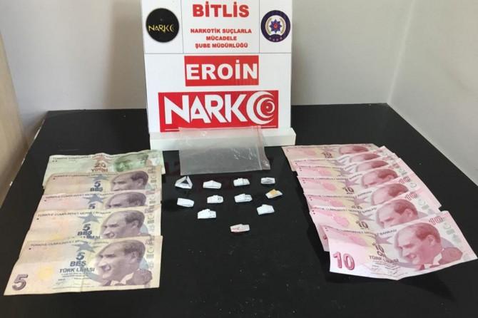 Bitlis'te uyuşturucu alışverişine operasyon