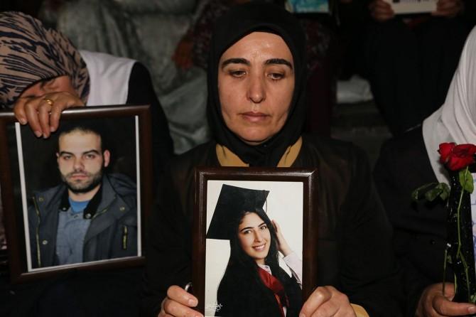 Diyarbakır'da eylem yapan ailelerin sayısı 34'e yükseldi