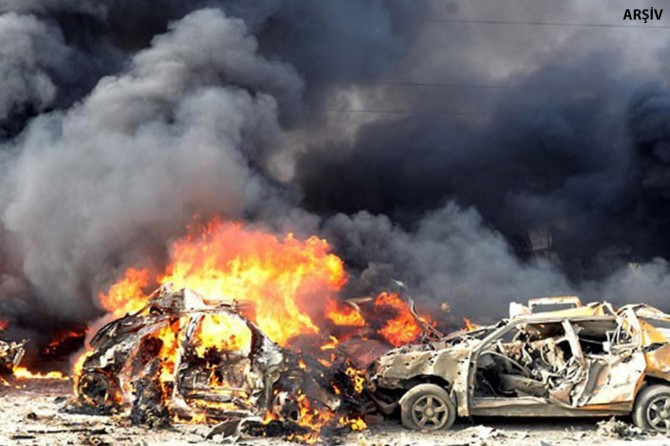 Li Sûrîyê êrîşa bombeyî: 12 mirî