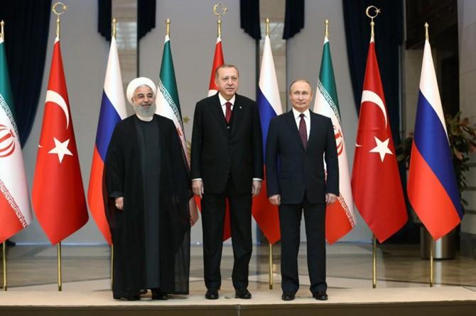 Ankara'da üçlü Suriye zirvesi bugün yapılacak