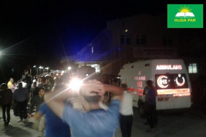 HÜDA PAR: Kör şiddetin hak arayışlarıyla ilgisini reddediyoruz