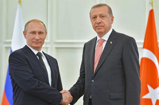 Rusya Başkanı Putin Üçlü Zirve için Ankara'da