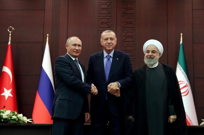 Türkiye-Rusya-İran Üçlü Zirvesi ortak bildirisi yayımlandı