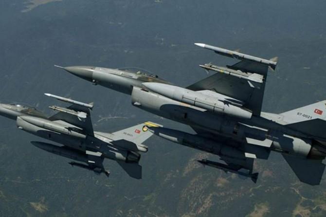 Zap bölgesine hava harekâtı: 2 PKK'li öldürüldü