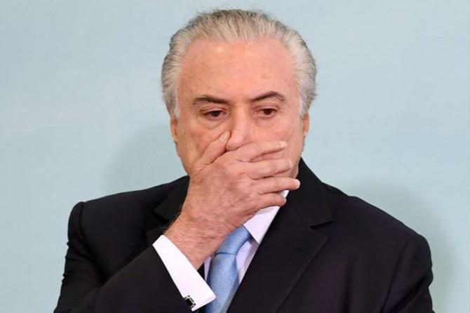 """Brezilya eski Devlet Başkanı Temer'den """"darbe"""" itirafı"""
