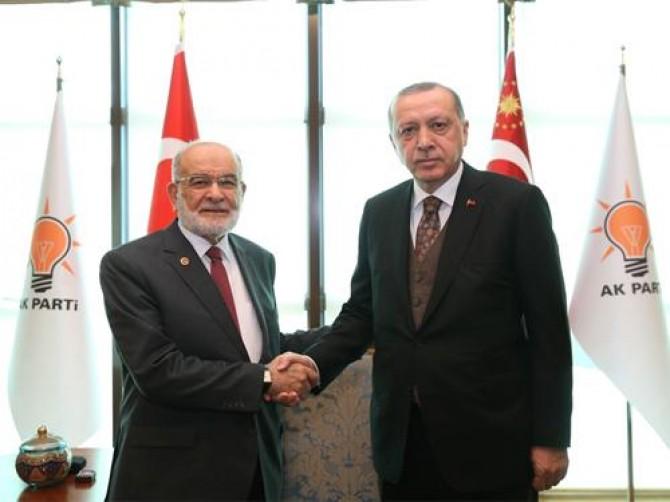 Karamollaoğlu, Cumhurbaşkanı Erdoğan ile görüşmesinin detaylarını anlattı