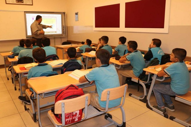 Gaziantep Mehmet Görmez İmam Hatip proje okulunda hafızlık ve akademik eğitim bir arada
