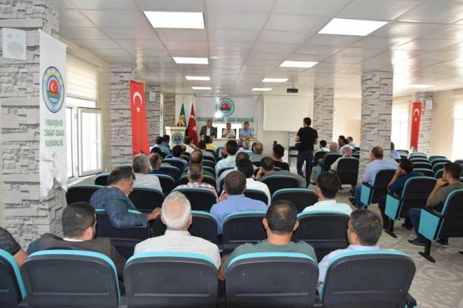 Yemyeşil Urfa projesi için mahalle muhtarlarıyla toplantı