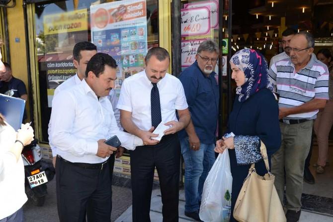 Gaziantep'te ücretli poşet denetimi yapıldı