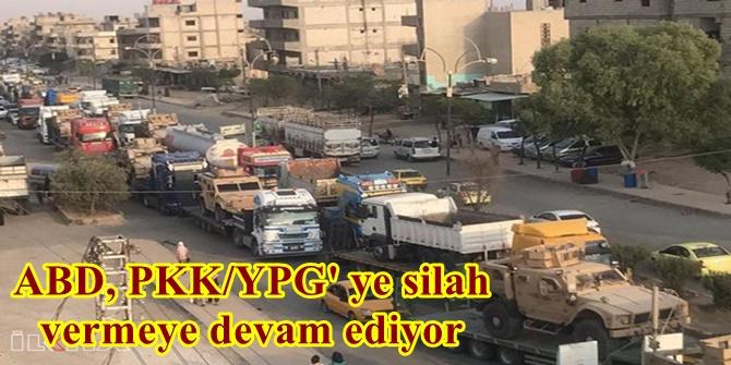 ABD, PKK/YPG' ye silah vermeye devam ediyor