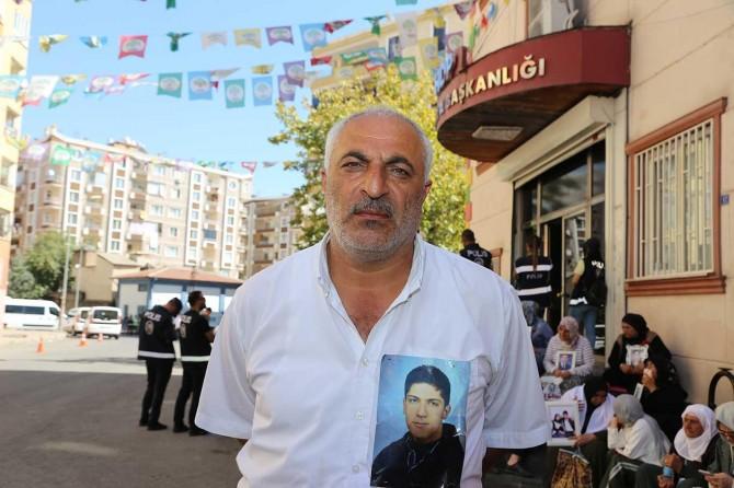 Oturma eylemindeki aile: HDP medyası sözlerimi çarpıttı