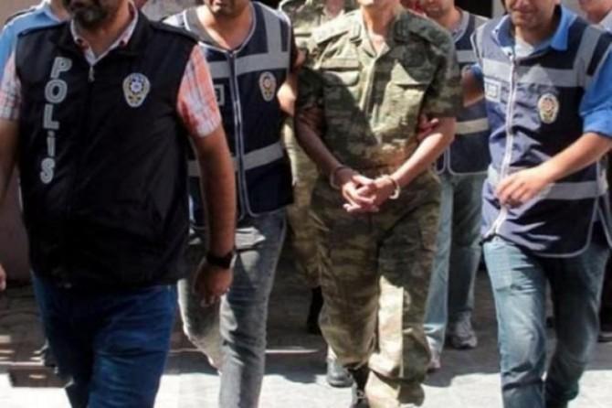 74 muvazzaf askere yakalama kararı