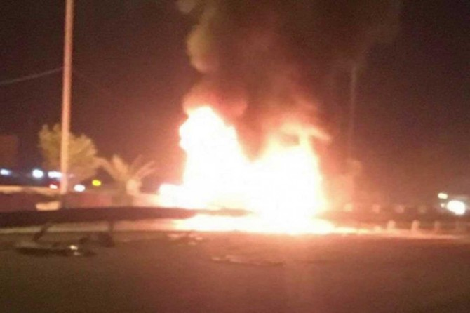 Kerbela'da patlama: 12 kişi hayatını kaybetti