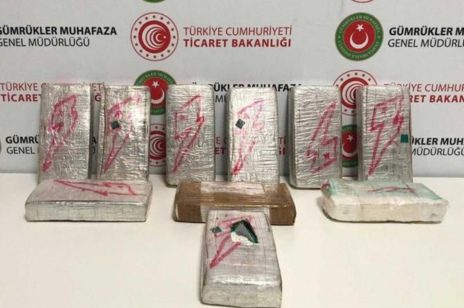 İstanbul Havalimanı'nda yüklü miktarda uyuşturucu ele geçirildi