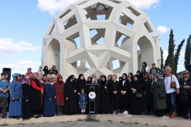 15 Temmuz mağdurlarından evladı için eylem yapan annelere destek