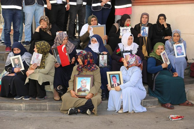 Families continue their hopeful wait in sit-in protest