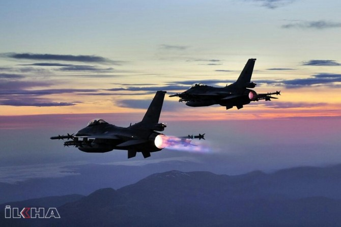 Turkish F-16s in Syrian airspace for 3rd time