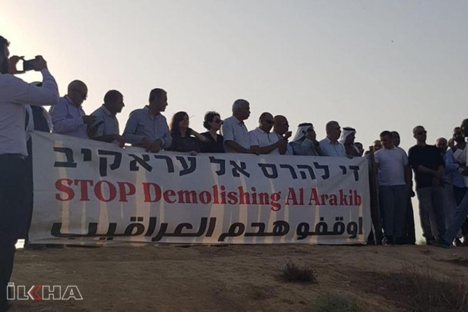Occupying zionists demolish same Palestinian villager for 162nd time