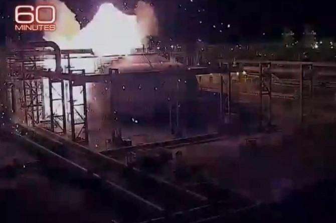 Aramco saldırısının görüntüleri yayımlandı