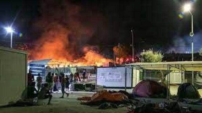 Moria mülteci kampı cehennem gibi