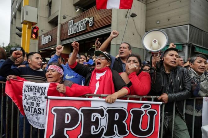 Peru'da siyasi kriz