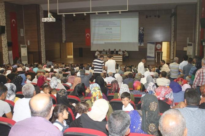 Şanlıurfa Eyyübiye'de işe alınacak 390 kişi kura ile belirlendi