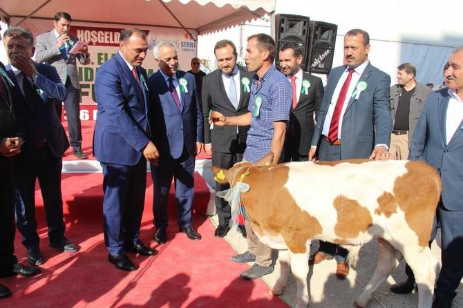 Elazığ'da 3. Gıda Tarım ve Hayvancılık Fuarı açıldı