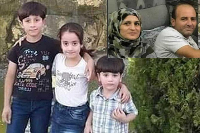 A family of 5 was massacred in Erbil