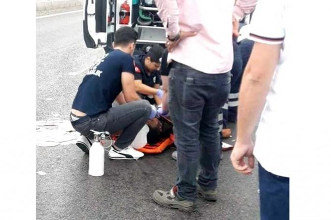 Nurdağı'nda hafif ticari aracın çarptığı kişi hayatını kaybetti