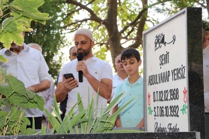 PKK'nin katlettiği öğretmen mezarı başında anıldı