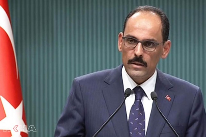 Ibrahim Kalın: Safe Zone will serve to secure our borders