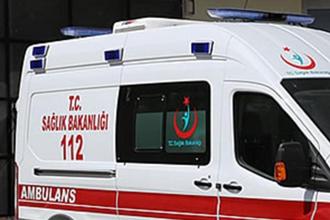 Mahkûmları taşıyan nakil aracı devrildi: 9 kişi yaralandı