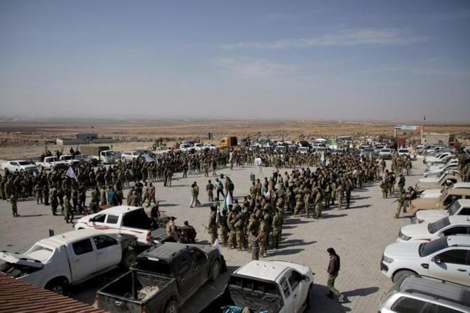 Suriye Milli Ordusu askerleri Şanlıurfa'ya geldi