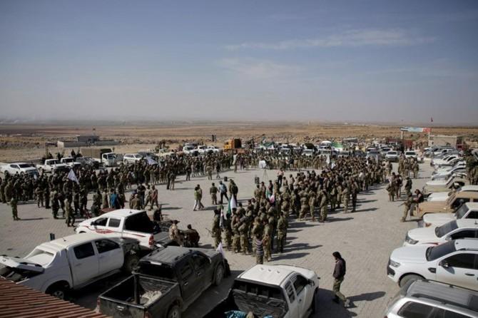 Leşkerên Artêşa Azad a Sûrîyê hatin Rihayê