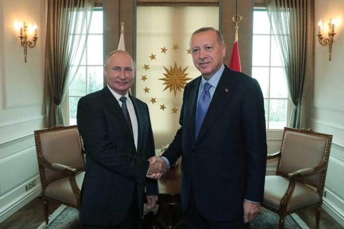 Erdoğan'la Putin Suriye'ye olası operasyonu görüştü