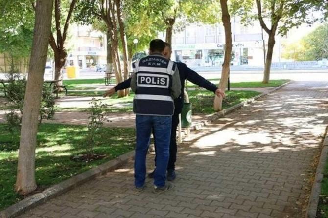 Gaziantep'te okul çevresinde uyuşturucu denetimi