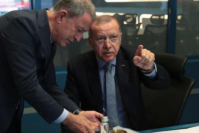 Erdogan ji civîna koordînasyona ku ji bo harekatê hatiye sazkirin re serokatî kir