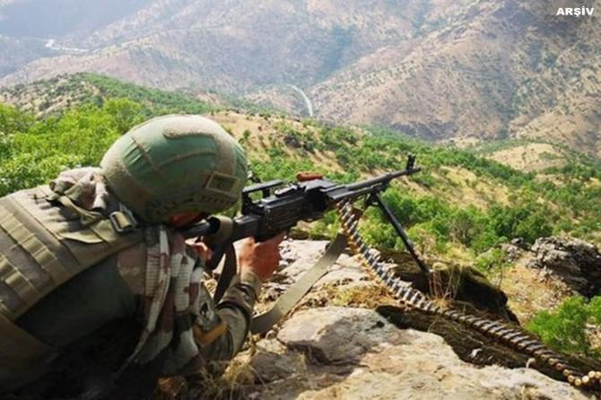 Van'da öldürülen PKK'li sayısı 8'e yükseldi