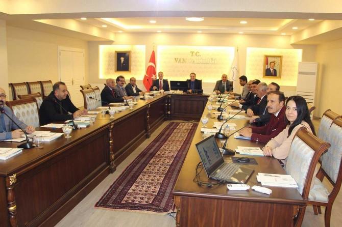 Van'da İl İstihdam ve Mesleki Eğitim Kurulu toplantısı yapıldı