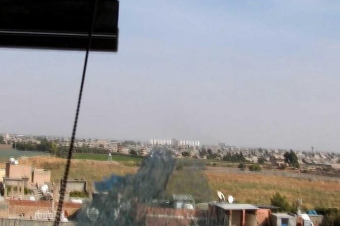 PKK/YPG'nin basına ikinci saldırı anı İLKHA kamerasında